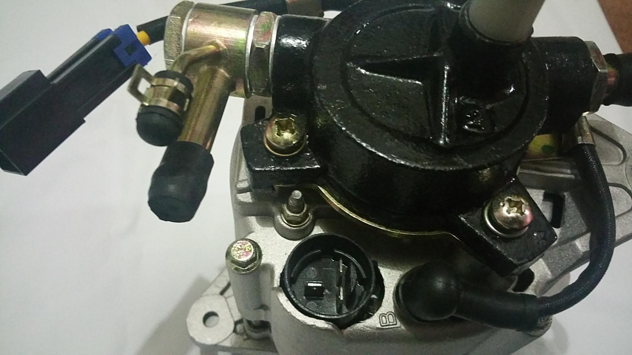 Alternator With Pump For Nissan Navara D22 Series Engine