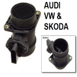 MASS AIR FLOW METER for VOLKSWAGEN PASSAT GOLF SKODA OCTAVIA 1.8T TURBO PETROL