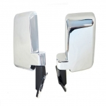 60 Series 87-90 Large Door Mirrors chrome Pair Left and right for Toyota Landcruiser