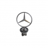Mercedes Benz Bonnet Badge W202 W203 W204 W210 Etc Emblem Spring Mounted