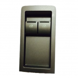 Holden Commodore VY VZ 02-06 Ute Power Window Master Switch 2 Button - Grey