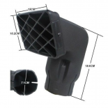 Snorkel Air Ram Head Airflow 2.75 inch 71mm Replacement Removable Kit fit safari