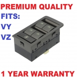 Holden Commodore Vy/Vz /Ss/Ute Power Master Window Switch 4 Buttons - 13 pins