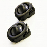 REAR Electric Power Window Switches PAIR BLACK Holden Commodore VX VY VZ VT
