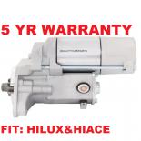 Starter Motor fits Toyota Hilux LN147, LN165, LN167, LN172 engine 3L, 5L 1997-2005