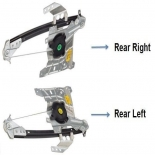 Window regulator AUDI A4 S4 96-02 Rear Right Left