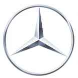 MERCEDES STAR 90mm LOGO BADGE Chrome 3.5
