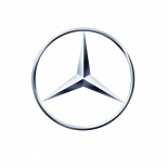 MERCEDES STAR 115mm LOGO BADGE Chrome Emblem NEW