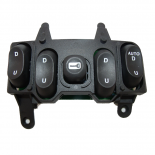 Ford Falcon Fairmont & Fairlane EF EL NF NL Master Power Window Switch Black