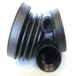 BMW E39 520i 523i 528i Intake Boot Throttle Body to Air Mass Sensor 13541740931