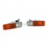 Front bar indicator light left & right sides 1996-2006 pair for Mitsubishi Triton MK