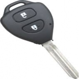 Key Shell FITS Toyota 2 Button Remote Rav4 Corolla Camry Prado Echo Hilux Yaris ETC