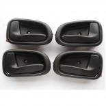 Set of 4 Inside Door Handle black for 94-98 Toyota Corolla AE101 AE102 new