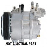 AUDI Q5 2011-2012 AIR CONDITIONING COMPRESSOR 8R 6SEU14C 4 CYLINDER