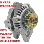 Alternator fIT Mitsubishi Triton MK 4x4 V6 engine 6G72 3.0L Petrol 1996-2006