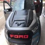 Bonnet Hood Scoop Cover Black Fit Ford Ranger Raptor wildtrack  mustang 2011-19