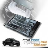 Bonnet Hood Scoop Cover Black Fit Ford Ranger Raptor wildtrack 2011-2019