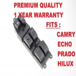 Master Power Window Switch for Toyota Hilux LN167 Dual Cab Only 1997-2001