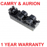 Master Window switch for Toyota Camry ACV40, AURION Front Window GSV50R NEW