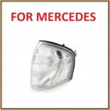 C class w202 corner indicator light left side (white) BRAND NEW for Mercedes