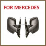 Manual door mirrors left & right sides for Mercedes Vito Van w638  1998-2004