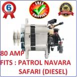 Alternator with Pump for Nissan Navara D22 Series engine TD27 2.7L diesel 1997-2