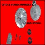 Armrest Repair Kit  fits Mercedes Vito Viano / left Passenger side 2003- 2007