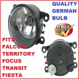Fog Light fit Ford Falcon BF FG Focus Fiesta Transit Territory EcoSport