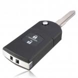Flip remote Key case shell for Mazda 2 mazda 3 5 & 6 RX7 RX8 cx5 cx7 cx9 mx5