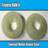 Sunroof Motor Repair Gear For Toyota RAV 4 Window Replacement White Plastic