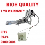 TOYOTA WINDOW REGULATOR RAV4 ACA20 SERIES FRONT RIGHT PASSENGER 2000-05