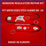 Window Regulator kit Mercedes W639 Vito Viano Kit Front Left 2004-2014