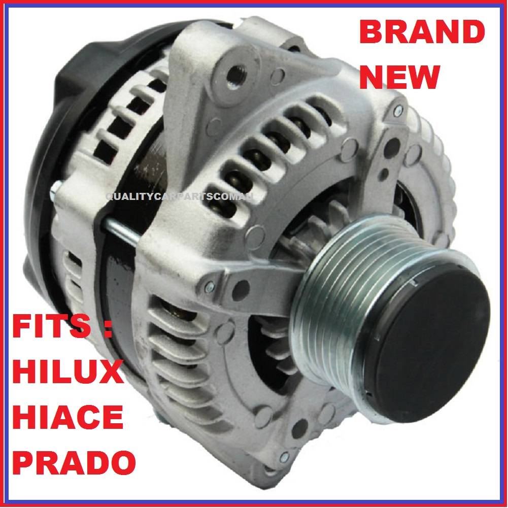 Alternator for TOYOTA HiLux D4D KUN16R 26R KZN156 157 Turbo 1KD-FTV 3.0L 130A