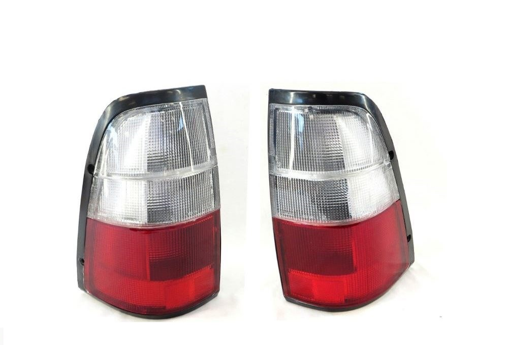 TF Tail lights (white Top) for Holden Rodeo Left and right sides 1997-2003 Pair