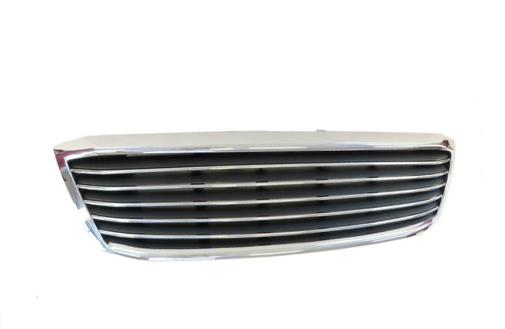 Billet Style grille chrome black for Toyota Hilux 2005-2008