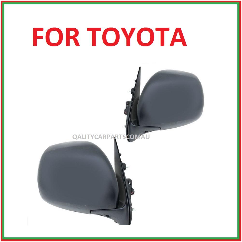 Door mirrors electric  for Toyota Hiace Van 05-12 pair