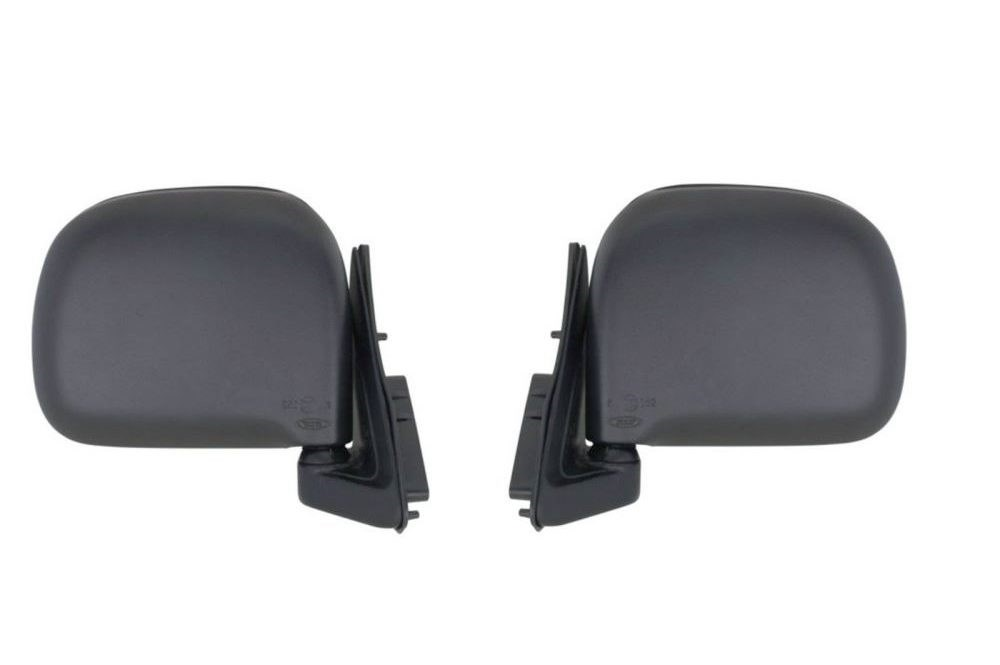 Door mirrors left and Right sides (manual) 1989-2005 pair for Toyota Hiace Van