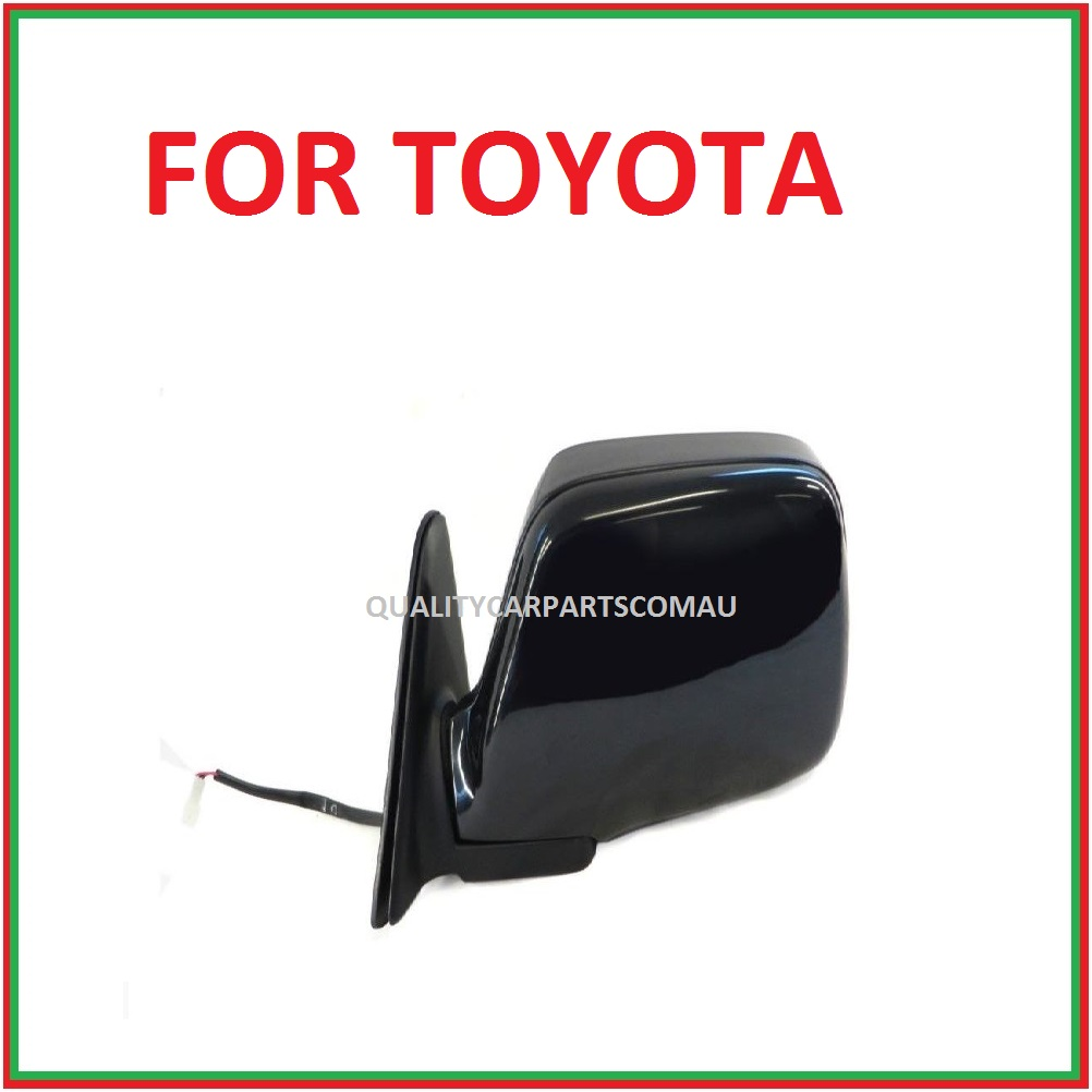 Door mirror electric black Left OR right for Toyota Landcruiser 80 series 1990-1998