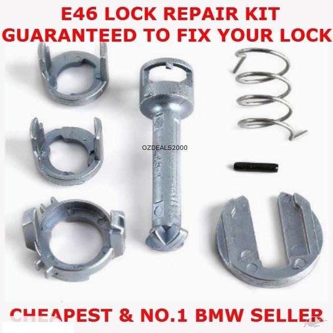 Door lock cylinder repair kit E46 316i/t 318i 320i 323i 325i 328i 330i 335i for BMW