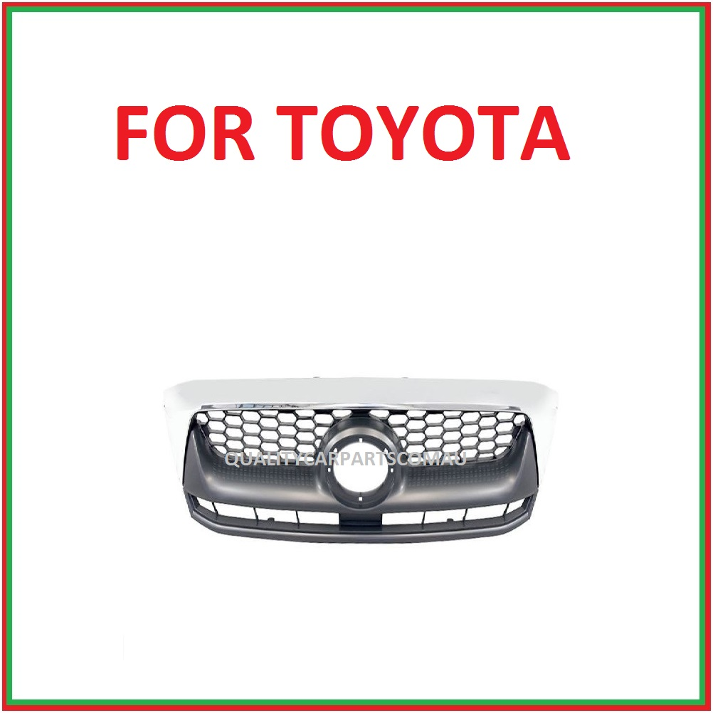 Grille Chrome for Toyota Hilux 2005-2011 SPECIAL PRICE FOR 1 MONTH