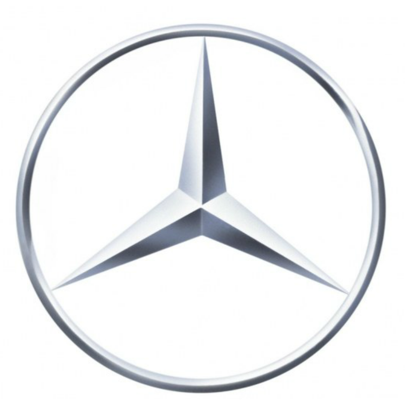Mercedes Star 90mm Logo Badge Chrome 3 5 Emblem New Pid117 on nissan fuel pump