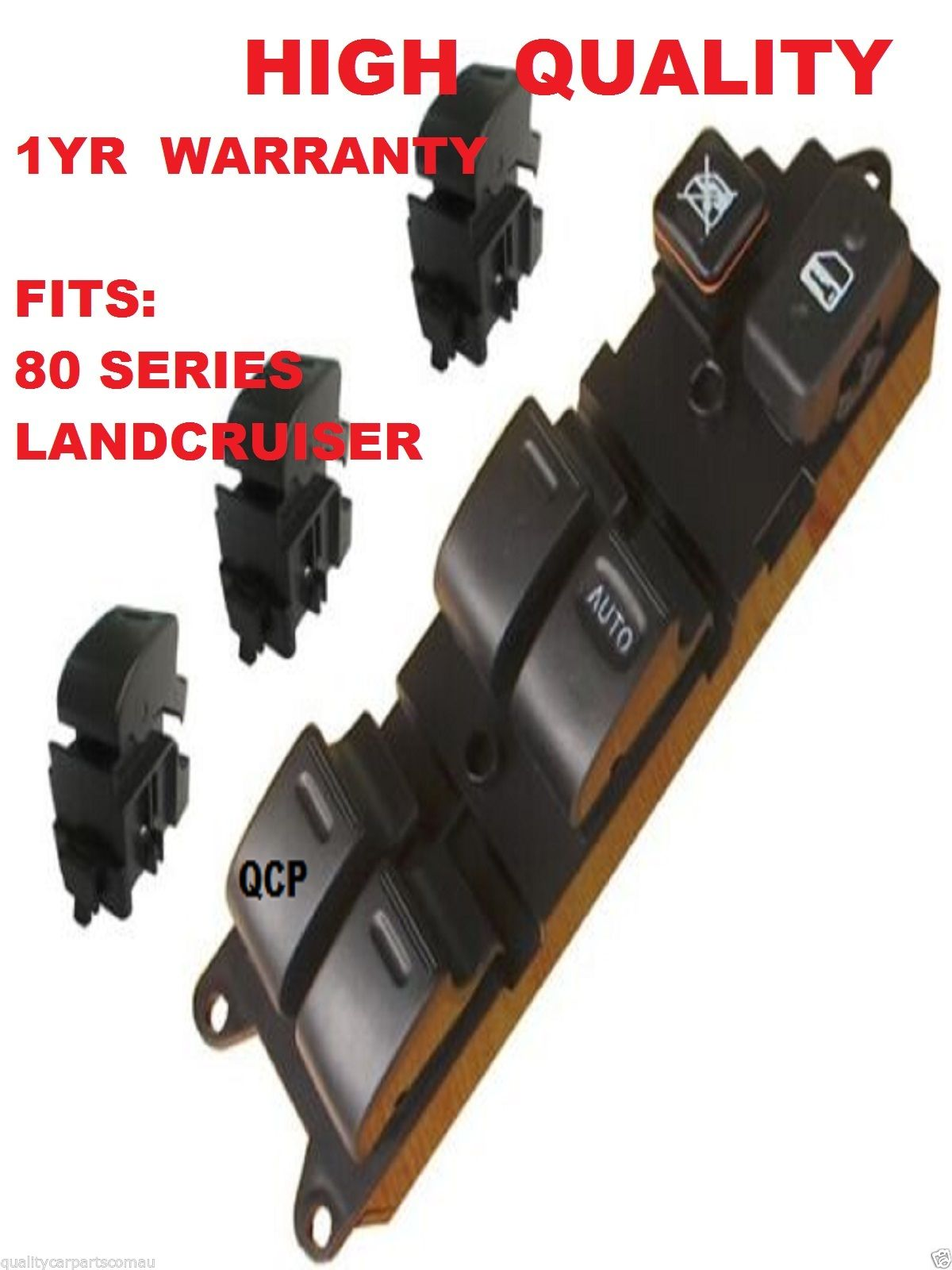 80 Series Main+ 3 Single Switch for Toyota Landcruiser