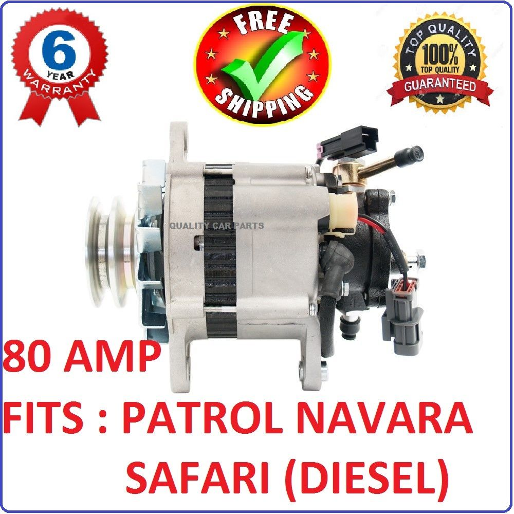 Alternator with Pump for Nissan Patrol Navara SAFARI URVAN MAVERICK diesel NEW