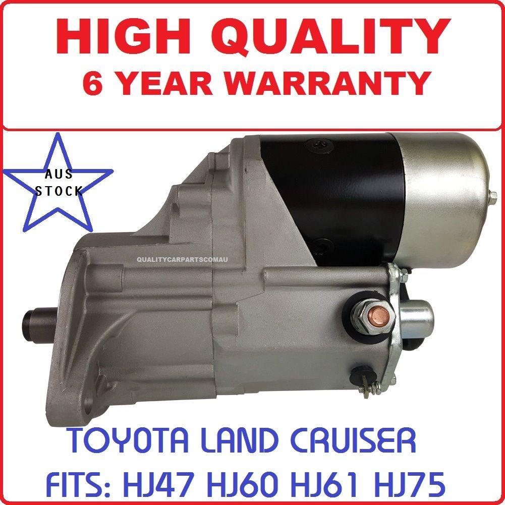Starter Motor Toyota Landcruiser HJ47 HJ60 HJ61 75