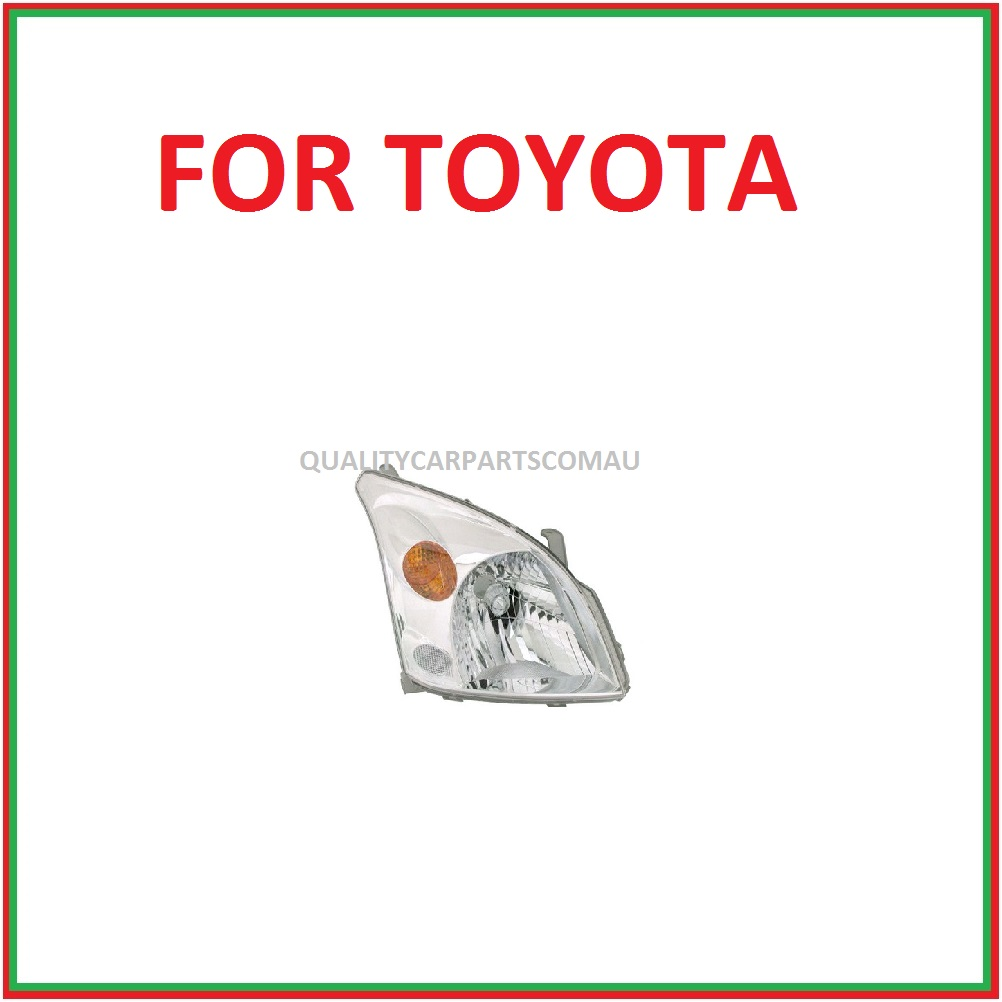 Headlights Right for Toyota landcruiser Prado J120 2003-2009