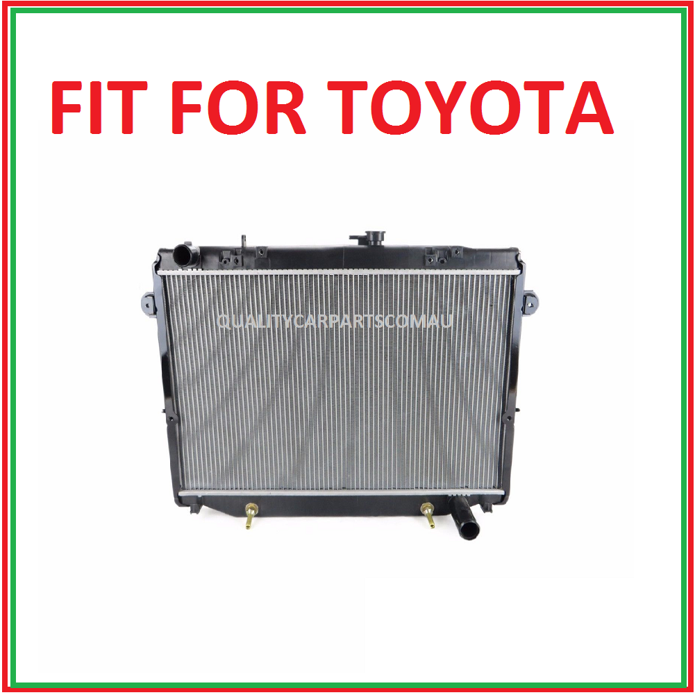 Landcruiser 100 series 98-05 4.5L 6cyl radiator auto/manual