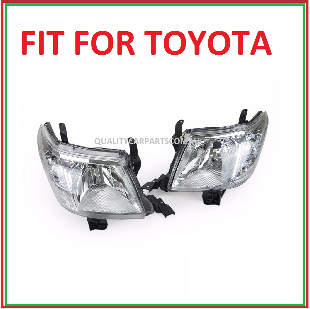 Headlights Left and right sides (pair) 2011-2015 for Toyota hilux