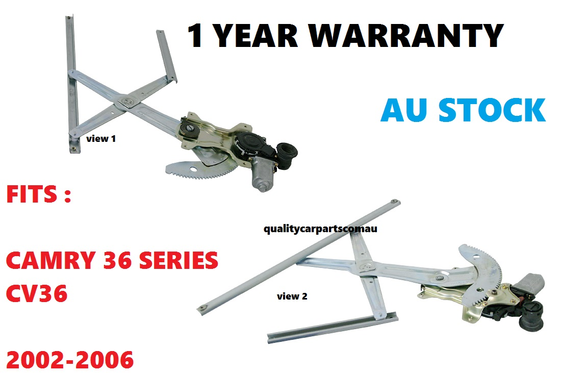 Electric Window Regulator front Right Hand fit Toyota Camry CV36 02 - 06 36 series
