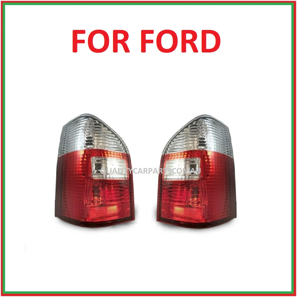 Au2 to BA wagon tail light with white indicator lens for ford falcon  2000-2010