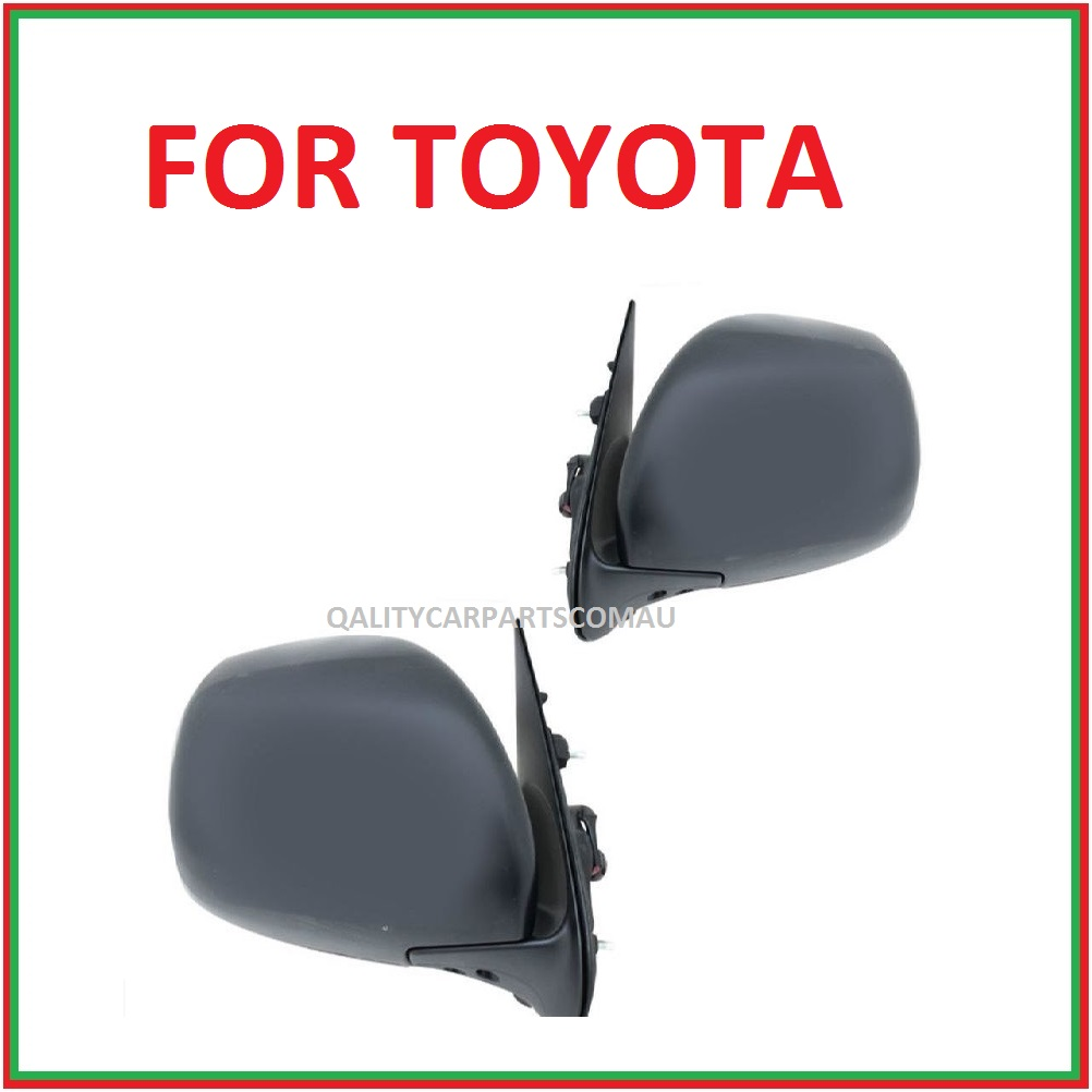 Door mirrors electric  for Toyota Hiace Van 05-12 pair
